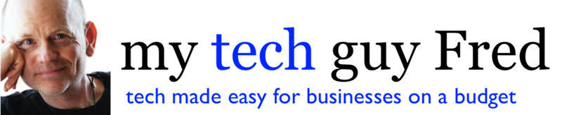 tech guy fred Logo
